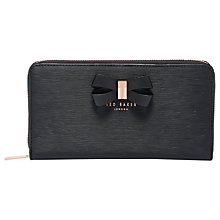 Buy Ted Baker Orlaia Leather Zipped Matinee Purse Online at johnlewis.com