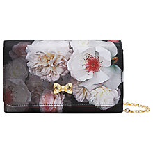 Buy Ted Baker Cela Chelsea Grey Clutch Bag Online at johnlewis.com
