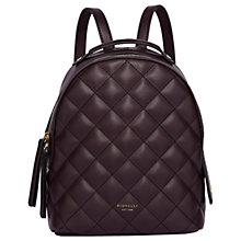 Buy Fiorelli Anouk Small Quilted Backpack Online at johnlewis.com