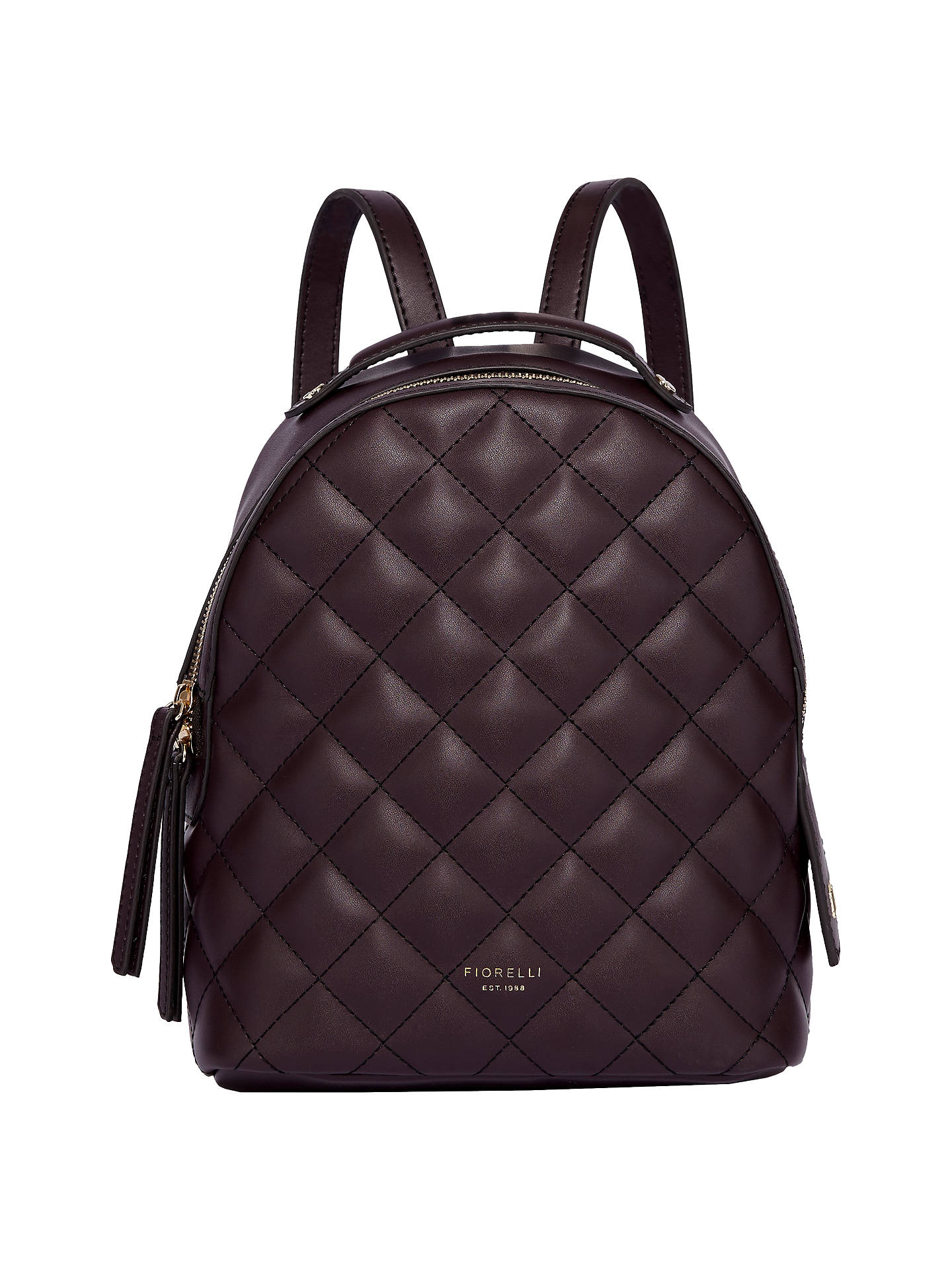 Fiorelli Anouk Small Quilted Backpack at John Lewis   Partners