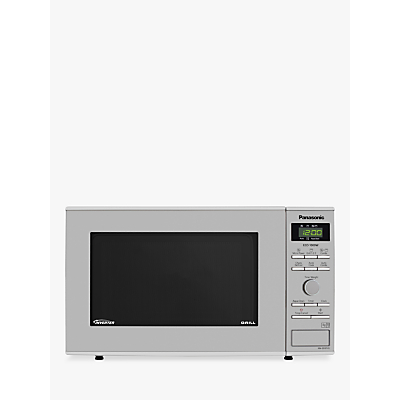 Panasonic NN-GD37HSBPQ Freestanding Microwave with Grill, Stainless Steel