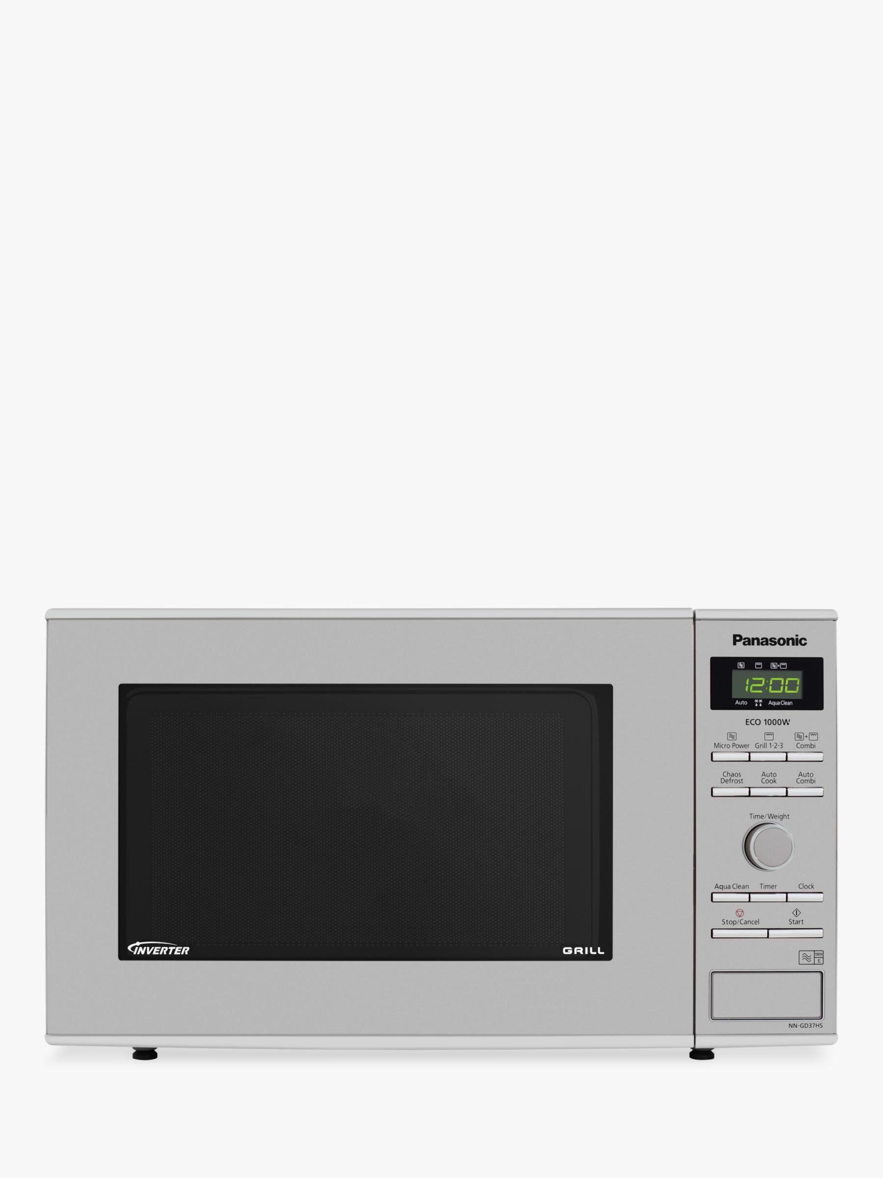 Panasonic Panasonic NN-GD37HSBPQ Freestanding Microwave with Grill, Stainless Steel