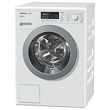 Buy Miele WKF301 Freestanding Washing Machine, 8kg Load, A+++ Energy Rating, 1400rpm Spin, White Online at johnlewis.com