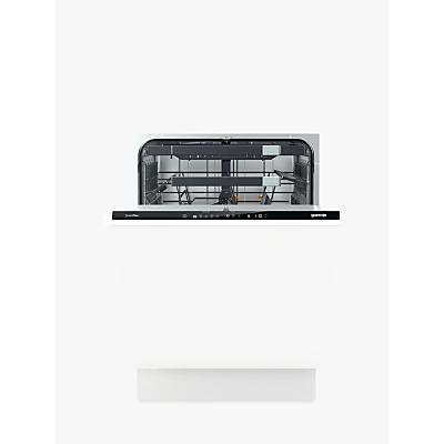 Gorenje GV66260UK Integrated Dishwasher, Stainless Steel