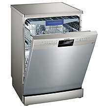 Buy Siemens iQ300 SN236I01MG Freestanding Dishwasher, Stainless Steel Online at johnlewis.com