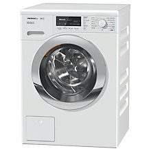 Buy Miele WKF322 Freestanding Washing Machine, 9kg Load, A+++ Energy Rating, 1600rpm Spin, White Online at johnlewis.com