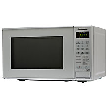 Buy Panasonic NN-K181MMBPQ Freestanding Microwave Oven with Grill, Silver Online at johnlewis.com