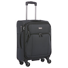 Buy Antler Airstream 55cm 4-Wheel Cabin Case, Navy Online at johnlewis.com