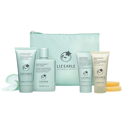 Buy Liz Earle Try Me Skincare Kit, Normal / Combination Online at johnlewis.com