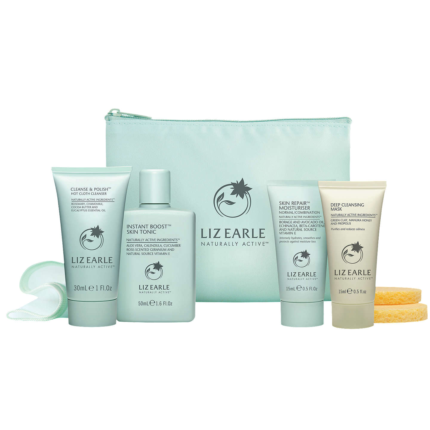 BuyLiz Earle Try Me Skincare Kit, Normal / Combination Online at johnlewis.com