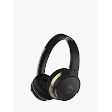 Buy Audio-Technica ATH-AR3BT Wireless Bluetooth NFC On-Ear Headphones Online at johnlewis.com