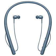 Buy Sony WI-H700 h.ear in 2 Wireless Bluetooth High Resolution In-Ear Headphones with NFC One-Touch & Neckband Online at johnlewis.com