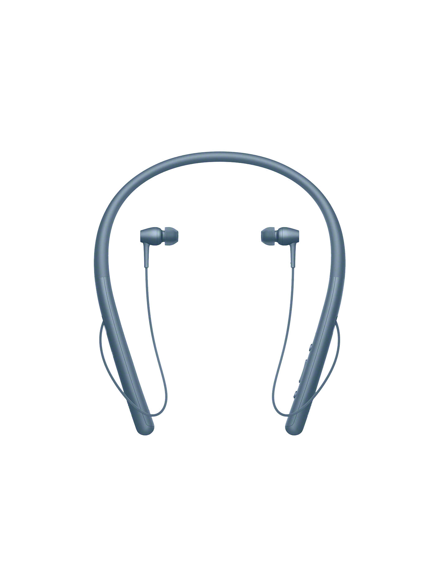 BuySony WI-H700 h.ear in 2 Wireless Bluetooth High Resolution In-Ear Headphones with NFC One-Touch & Neckband, Moonlit Blue Online at johnlewis.com
