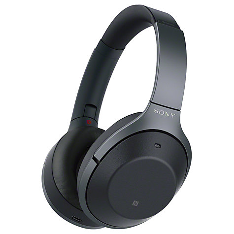 Buy Sony WH-1000XM2 Noise Cancelling Wireless Bluetooth NFC High Resolution Audio Over-Ear Headphones with Mic/Remote Online at johnlewis.com