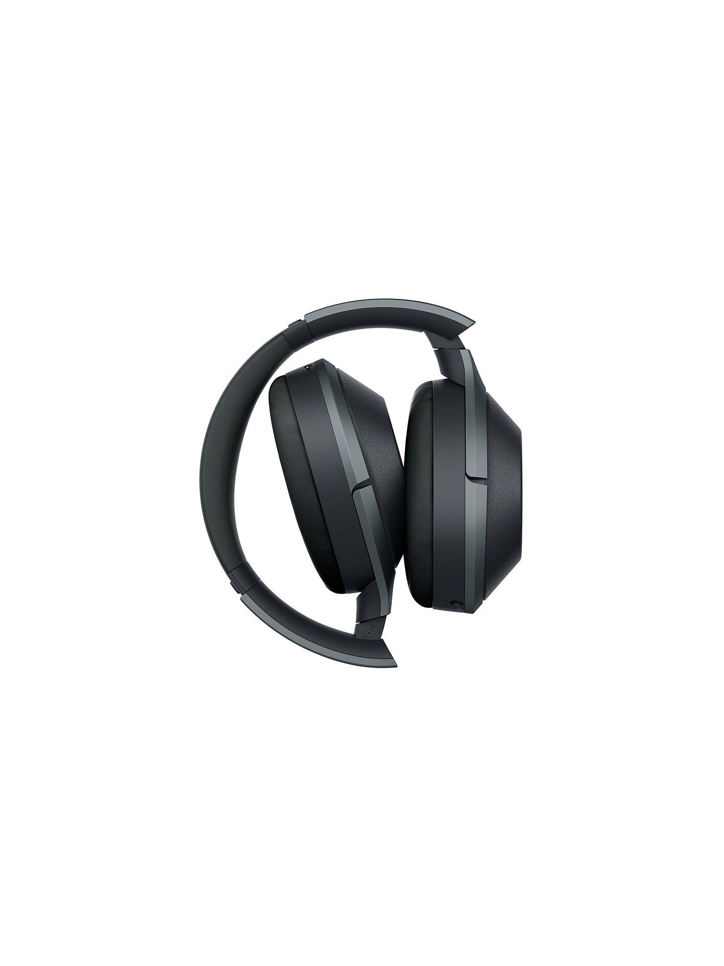 Buy Sony WH-1000XM2 Noise Cancelling Wireless Bluetooth NFC High Resolution Audio Over-Ear Headphones with Mic/Remote, Black Online at johnlewis.com