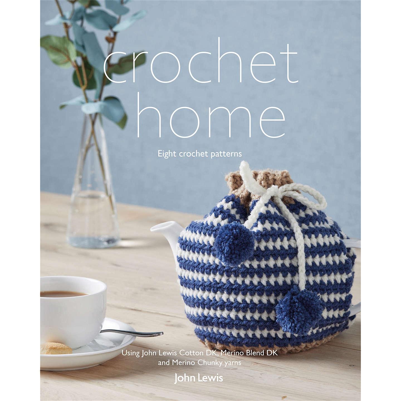 John Lewis Home Accessories Crochet Pattern Book at John Lewis