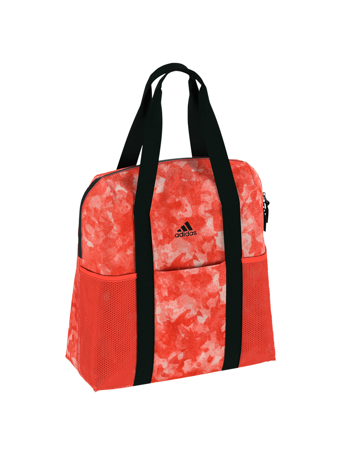 f711a8fa4f2 Buy adidas Training Tote Bag, Scarlet Online at johnlewis.com ...