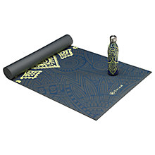 Buy Gaiam Keep Your Cool Yoga Premium 6mm Mat and Bottle Set, Multi Online at johnlewis.com