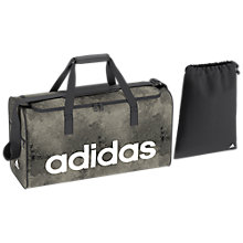 Buy adidas Linear Performance Duffel Bag, Chalk Pearl Online at johnlewis.com