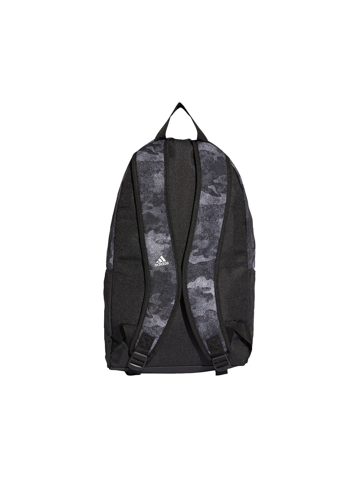 a27a8a3dbec ... Buy adidas Camo Classic Backpack, Black Online at johnlewis.com ...