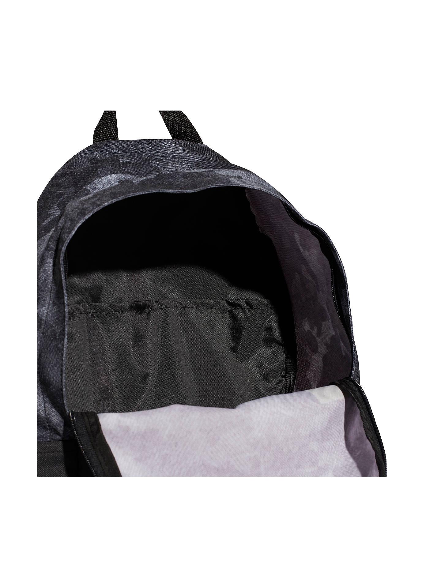 f8b5f85e346 ... Buy adidas Camo Classic Backpack, Black Online at johnlewis.com