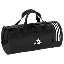 Buy Adidas Convertible 3 Stripes Duffle Bag Medium Online At Johnlewis