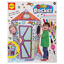 Buy ALEX Colour A Rocket Craft Kit Online at johnlewis.com