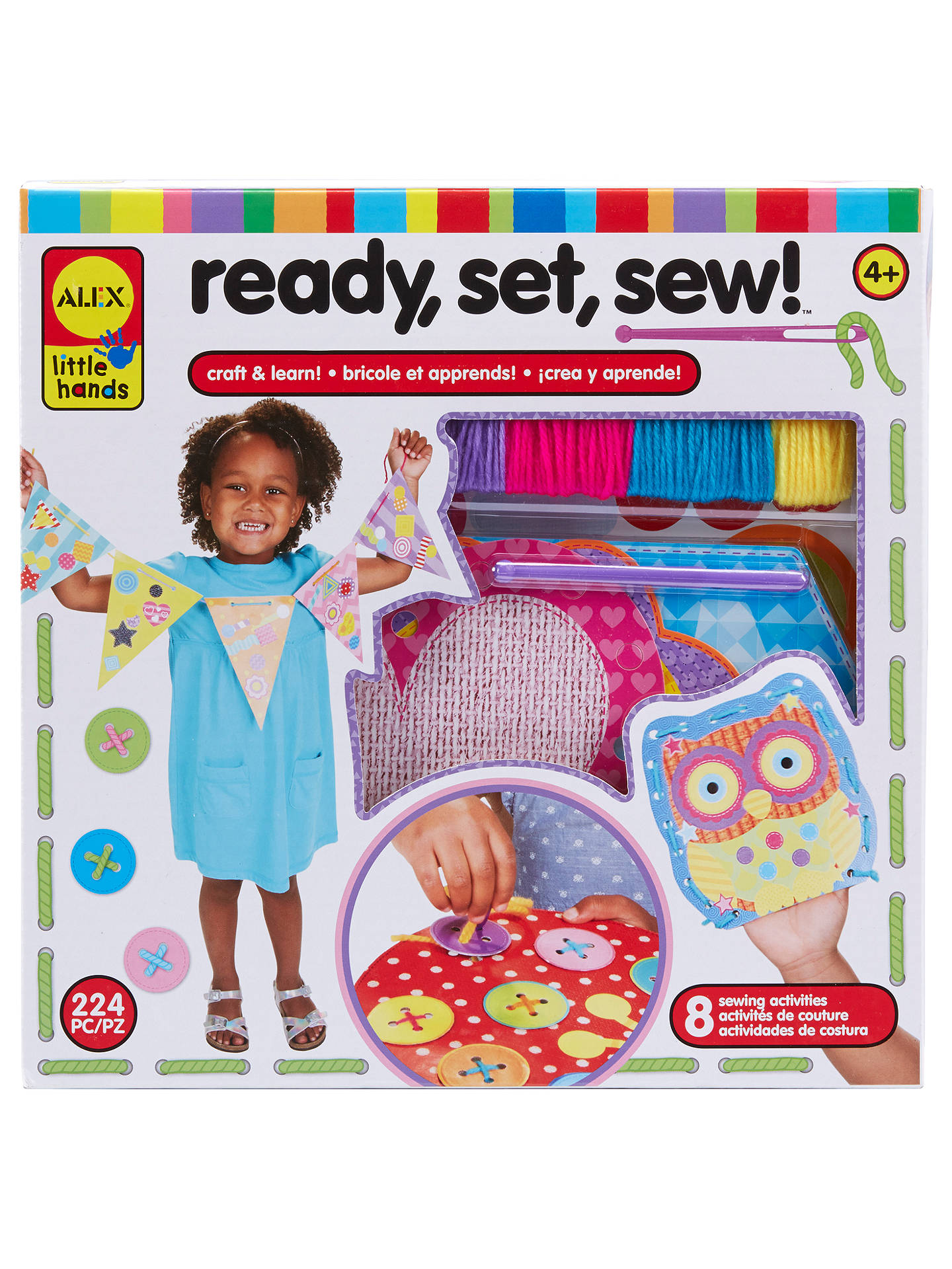 Buy ALEX Ready, Set, Sew Craft Kit Online at johnlewis.com