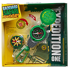 Buy Backyard Safari Expedition One 3 in 1 Compass Tool Online at johnlewis.com