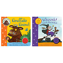 Buy Whoosh Went The Witch & Gruffalo Growl Book, Pack of 2 Online at johnlewis.com