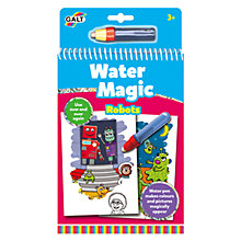 Buy Galt Water Magic Robots Book Online at johnlewis.com
