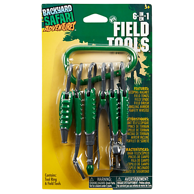 Image of Backyard Safari 6 in 1 Field Tools
