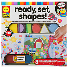 Buy ALEX Ready, Set, Shapes Craft Kit Online at johnlewis.com