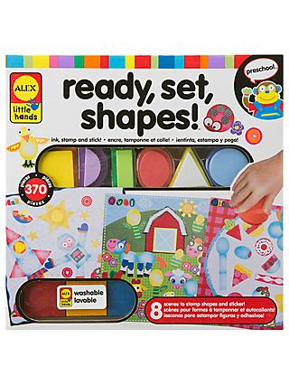 ALEX Ready, Set, Shapes Craft Kit