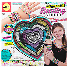 Buy ALEX Ultimate Beading Studio Craft Kit Online at johnlewis.com