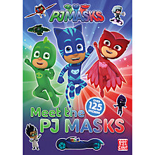 Buy Meet the PJ Masks Sticker Book Pack Online at johnlewis.com