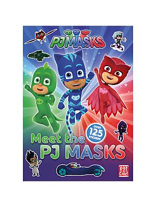Meet the PJ Masks Sticker Book Pack