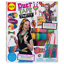 Buy ALEX Duct Tape Party Craft Kit Online at johnlewis.com
