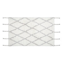 Buy John Lewis Fusion Berber Bath Mat, White Online at johnlewis.com