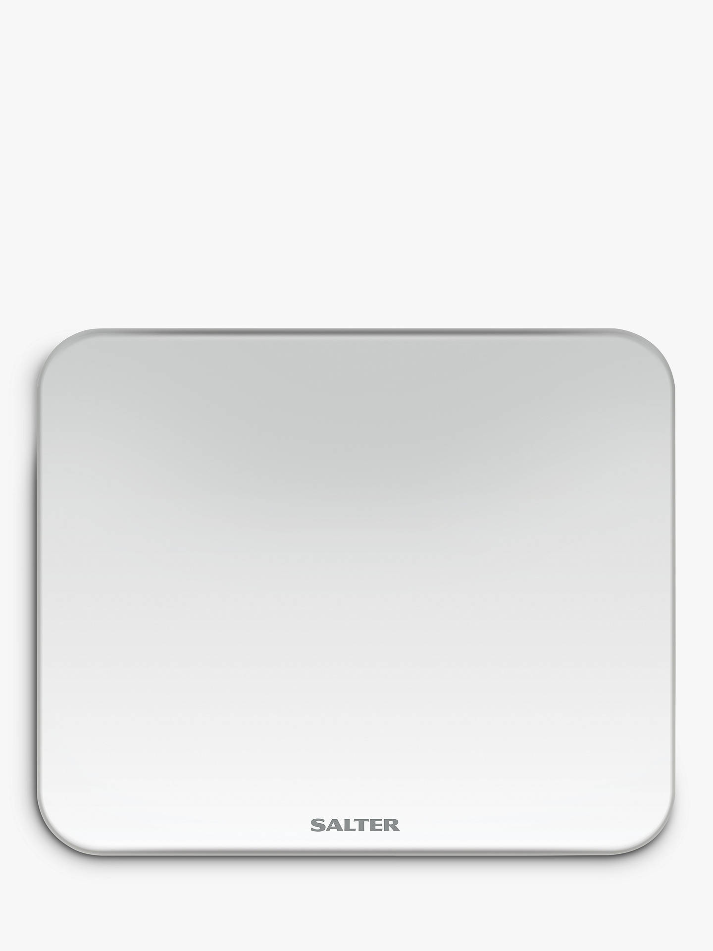 Salter 9204 Ghost Led Bathroom Scale White Online At Johnlewis