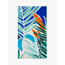 Buy House by John Lewis Palm Beach Towel, Green Online at johnlewis.com
