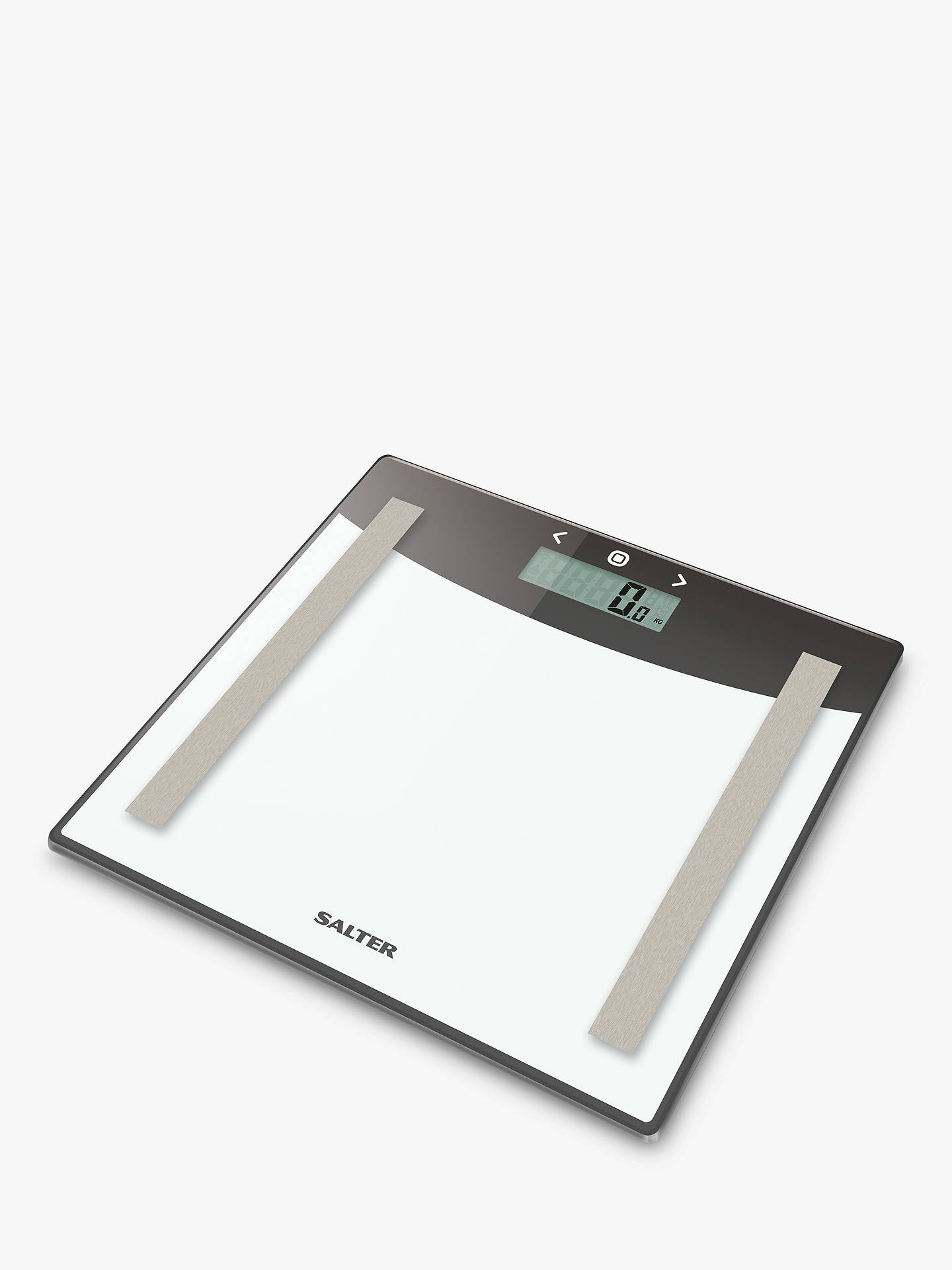 Salter Glass Body Analyser Bathroom Scale At John Lewis Partners