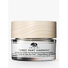 Buy Origins Three Part Harmony™ Day & Night Eye Cream Duo, 30ml Online at johnlewis.com