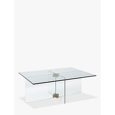 west elm Cosmia Glass Coffee Table