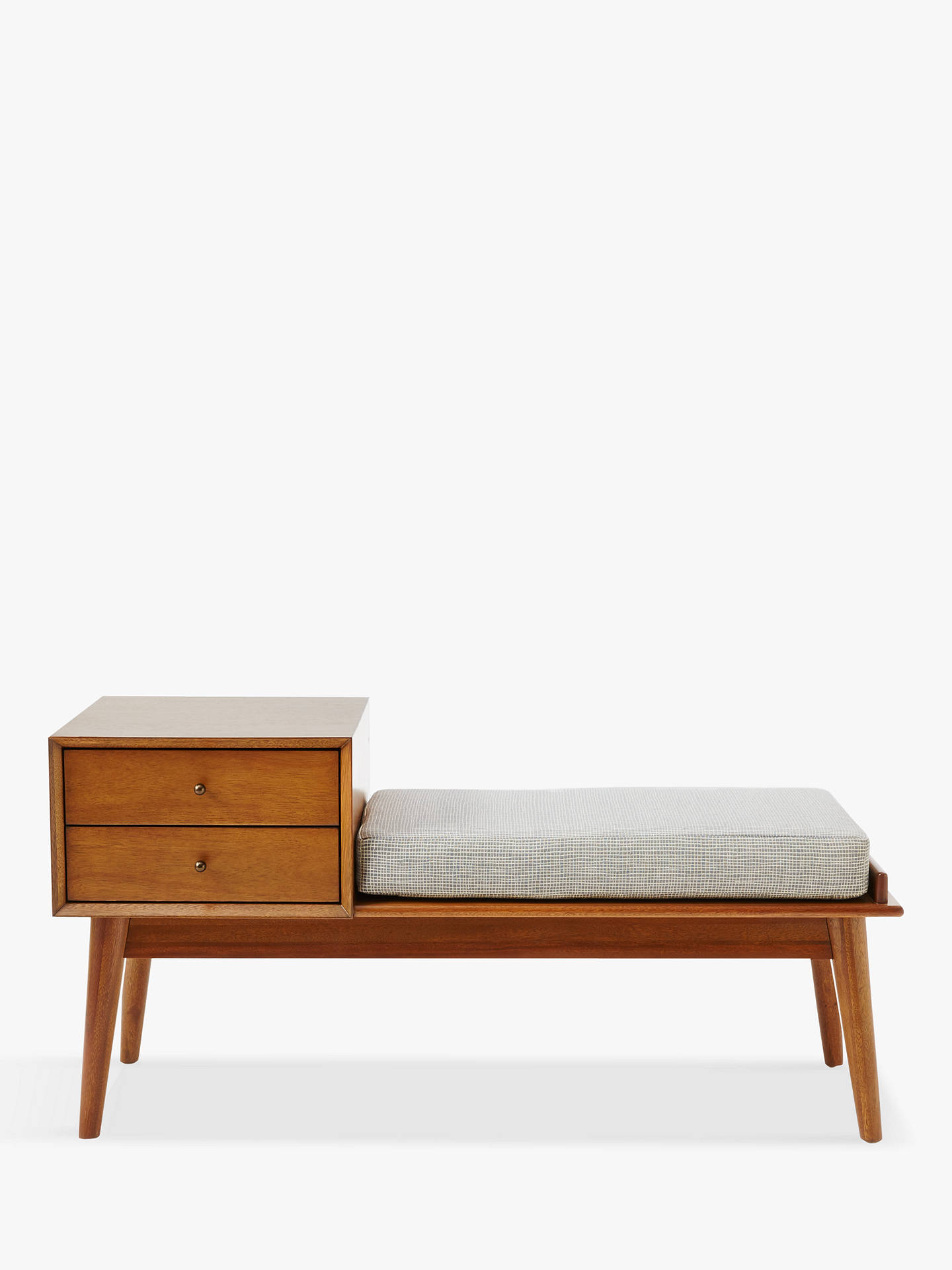 Awesome West Elm Mid Century Storage Bench Fsc Certified Eucalyptus And Acacia Wood Acorn Cjindustries Chair Design For Home Cjindustriesco