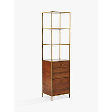 Buy west elm Nook Tower Storage Bookshelf Online at johnlewis.com