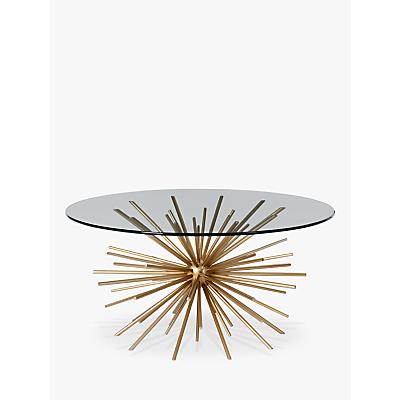 west elm Sputnik Coffee Table, Brass / Glass