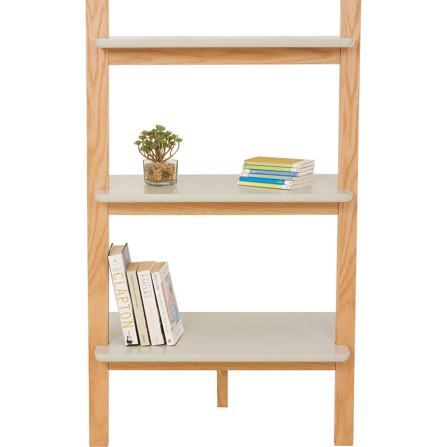 House by john lewis anton 5 shelf wood wide leaning for John lewis chinese furniture