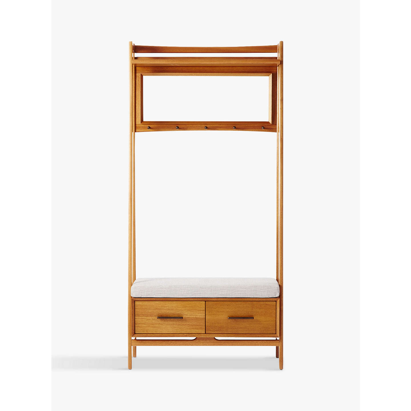 West Elm Mid Century Hall Stand Acorn At John Lewis