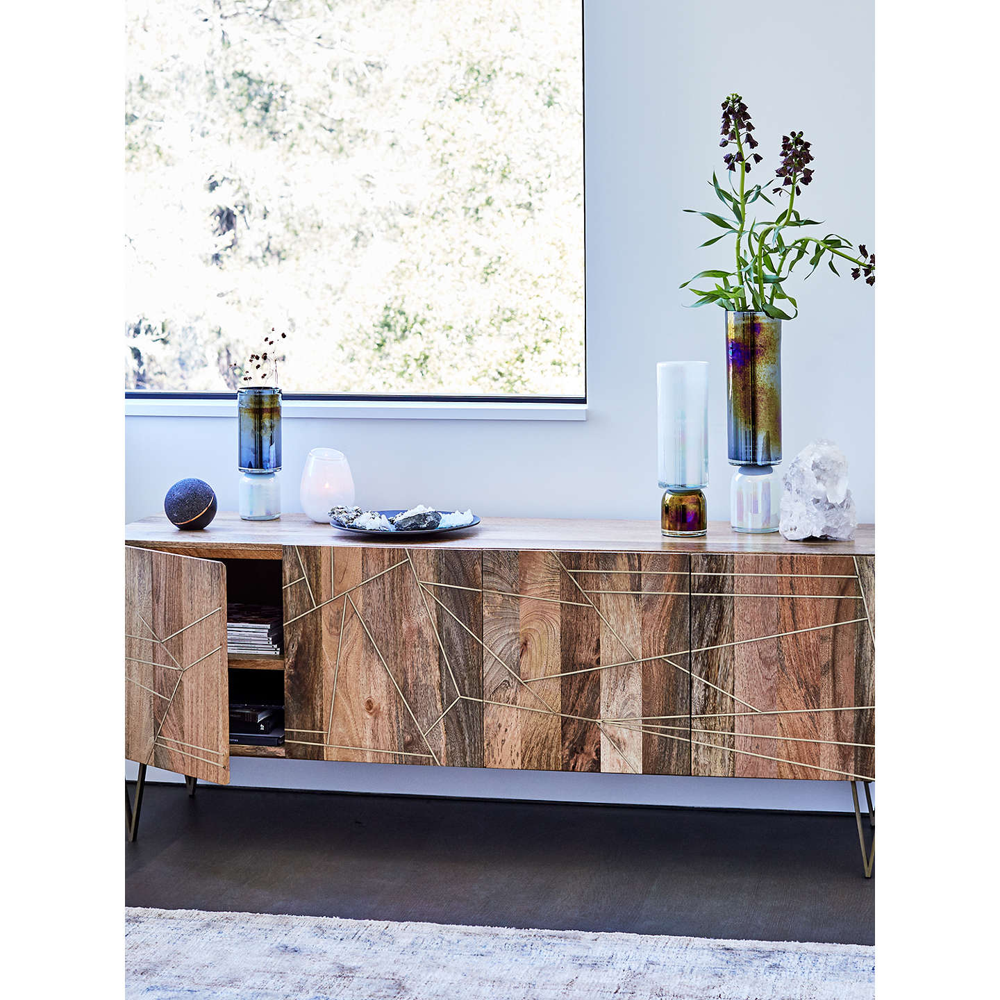 ... BuyRoar + Rabbit For West Elm Geo Console Table Online At Johnlewis.com  ...